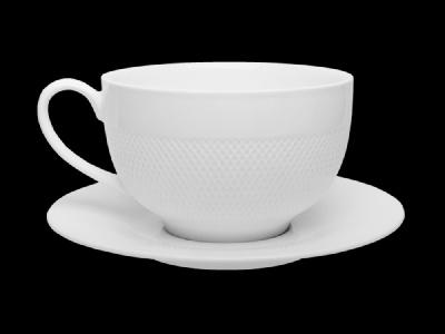 TUDOR Чашка+блюдце 350мл. TU2755 000000000001181777 купить в Посуда Центр